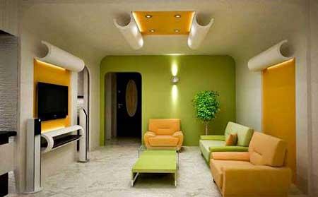berani bermain warna - Tips Mendesain Interior Rumah dengan Budget yang Minim