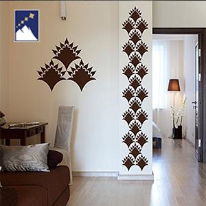cara mudah dekorasi pintu utama apartemen