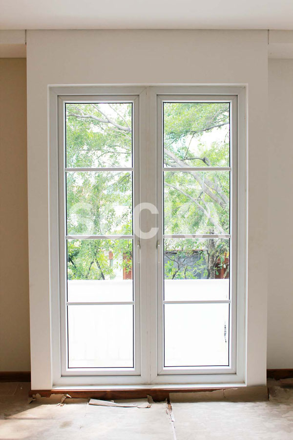 Pintu Swing French Door uPVC