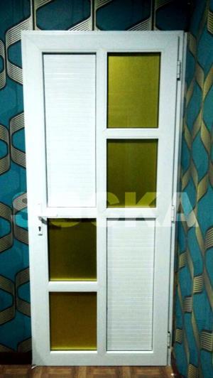 pintu swing panel upvc 1
