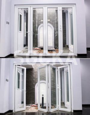 pintu lipat upvc 1