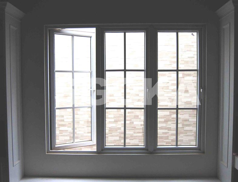 Jendela Casement French Window uPVC