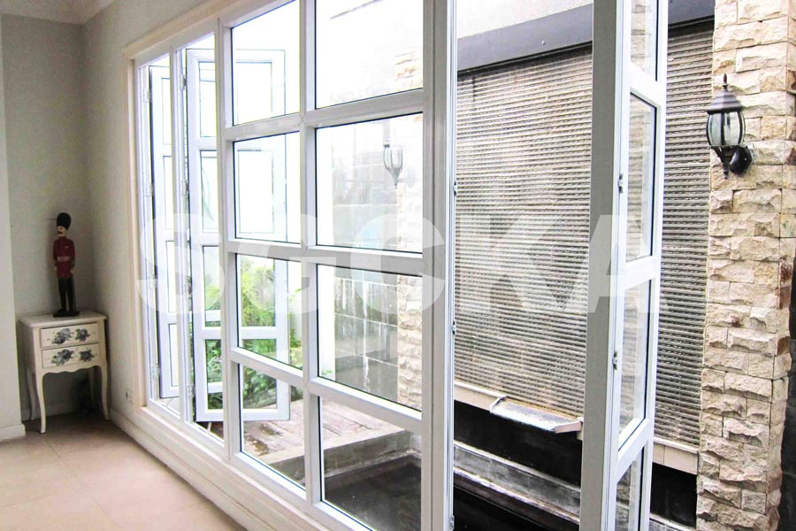 Jendela Swing French Window - Jendela Mati French Window uPVC