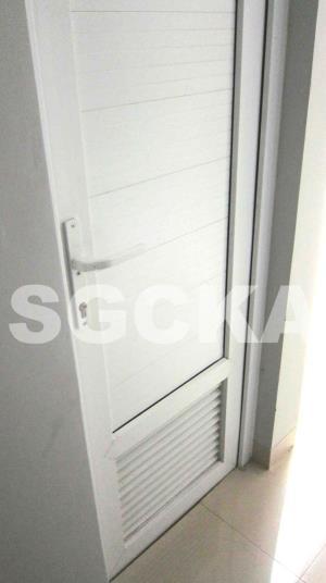 pintu swing jalusi upvc