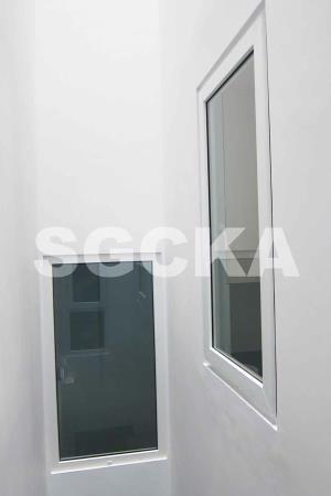 jendela casement jendela mati upvc 1