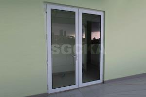 Pintu Double Swing uPVC